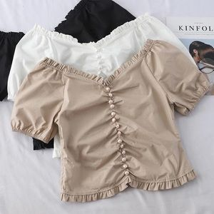 Lucid Dreams beige Macie Top